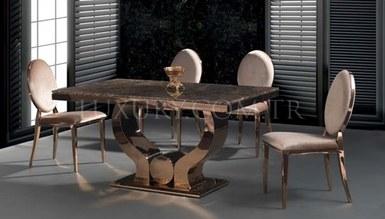 Varne Metal Dinner Table