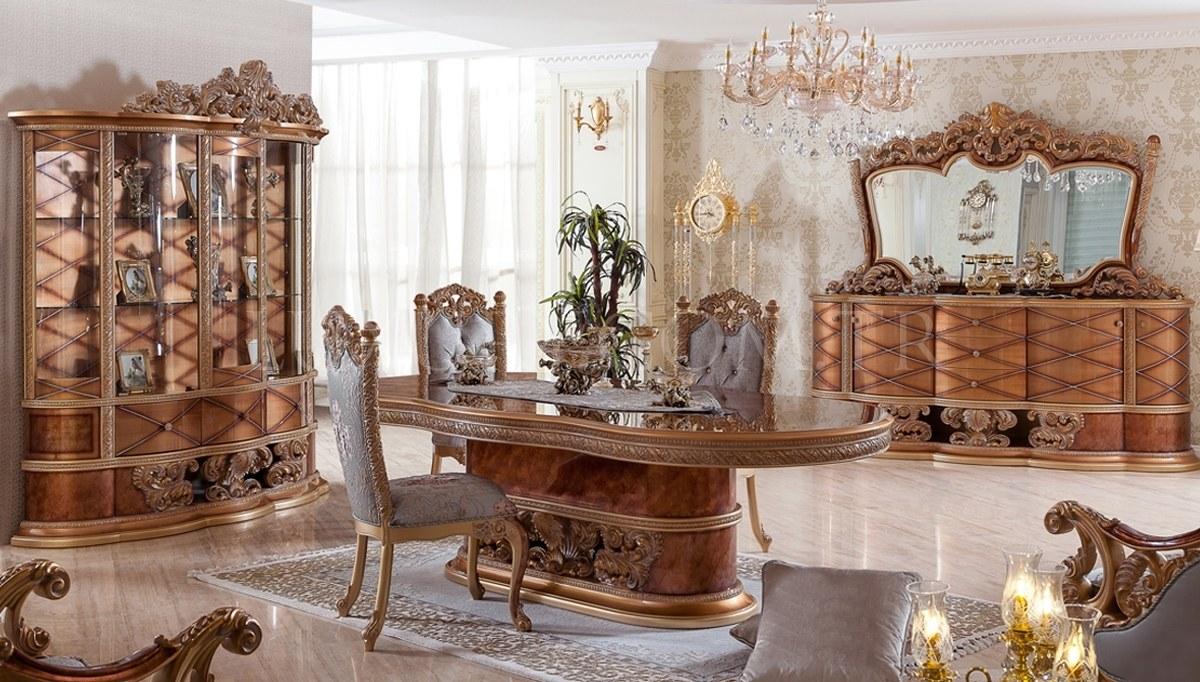 Villa Classic Walnut Dining Room