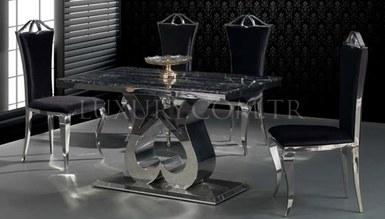 Vitesse Metal Dinner Table